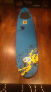 """California Company Classic 96 8"""" Surfboard - Only used twice"""