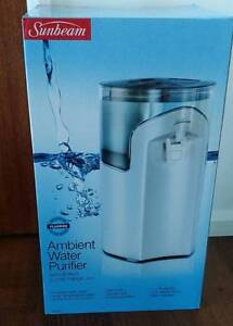 SUNBEAM WATER PURIFIER- USED FOR ONE DAY- TOO BIG FOR OUR KITCHEN Bundaberg Central Bundaberg City Preview