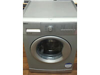 SILVER BEKO WASHING MACHINE 8KG 1200 SPIN
