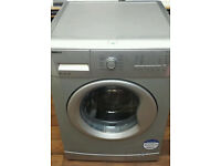 SILVER BEKO 8KG 1200 SPIN WASHING MACHINE IN EXCELLENT CONDITION