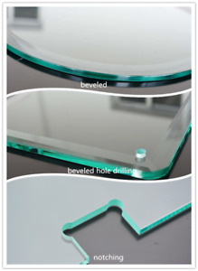 tempered glass used for showers,railings,furnitures etc.