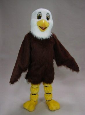 Adult Eagle Costume (2019 Cosplay Eagle Mascot Costume Suit Party Game Dress Outfit Advertising)