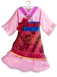 Mulan costume 7/8 girls all accessories incl