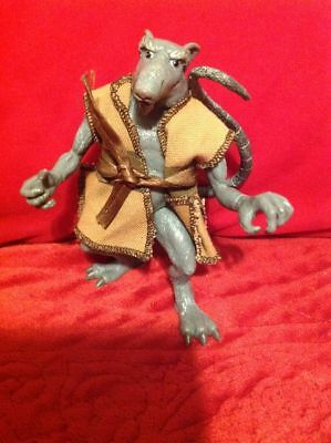 2002 TMNT Master Splinter Loose Action Figure with Outfit (Tmnt Outfits)