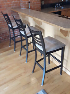 3 Bar Stools- ONLY $100.00