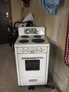 Antique stove make me and offer
