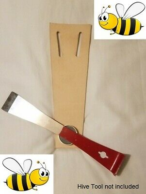 Hive Tool Magnetic Leather Belt Holster For Beekeeping Hive Inspections Look