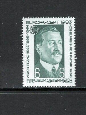 Austria 1983 VIKTOR FRANZ HESS, PHYSICS NOBEL PRIZE WINNER SC 1245 MNH