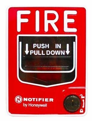 Notifier Nbg-12l Dual Action Pull Station W Key Lock