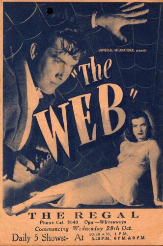 Web Original Movie Herald from the 1947 Movie