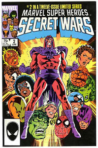 Marvel Super Heroes Secret Wars #2 (1984) VF 8.0 Marvel Comics
