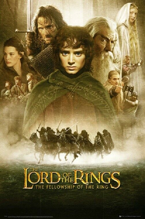 LORD OF THE RINGS MOVIE POSTER, USA Version (Size 24 x 36)