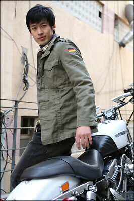 New Repro German army moleskin shirt jacket coat fieldshirt olive military (Moleskin Shirt Jacket)