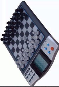 NEW TALKING VOICE ELECTRONIC CHESS SET BOARD MAGNETIC COMPUTER GAME Chermside Brisbane North East Preview