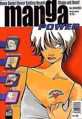 Manga Power Nr.20 u.a Peach Girl, Chobits, Devil Children, Psychic Academy, RAVE