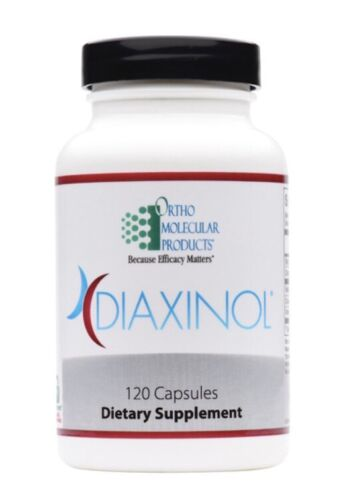 Ortho Molecular Diaxinol 120 Capsules Exp. 1/22 FRESHEST EXP. DATE! FAST SHIP!
