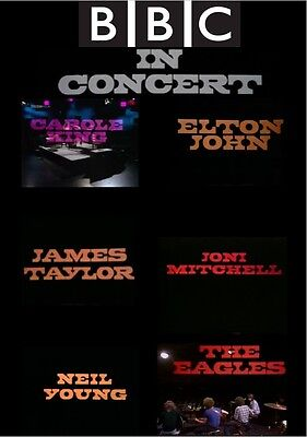 Bbc In Concert Dvd Joni Mitchell Elton John James Taylor The Eagles Neil Young