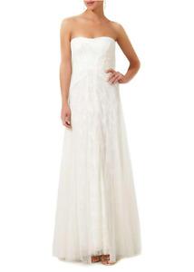 BCBG MAX AZRIA Off White Strapless Dress XS(0)