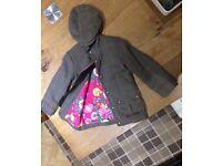 Joules coat and cap
