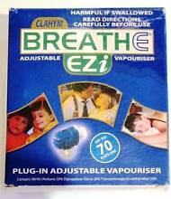 Breathe Ezi Adjustable Vaporiser Greenwith Tea Tree Gully Area Preview