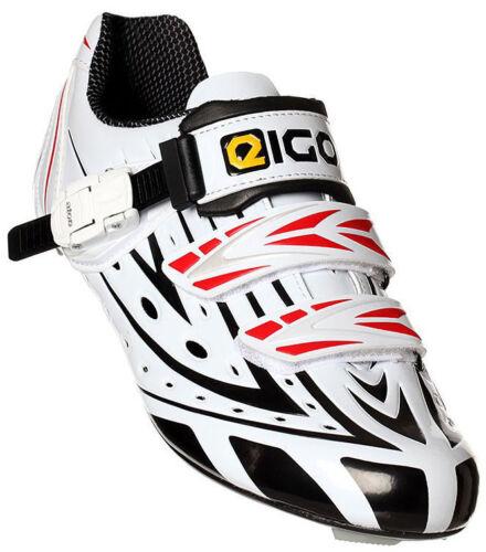 EIGO SIGMA CARBON KIDS CYCLING SHOES - ROAD BIKE TRIATHLON CYCLE YOUTH JUNIOR