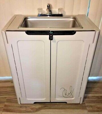 Portable Sink Nsf Mobile Handwash Self Contained Hot Water Concession Daycare.