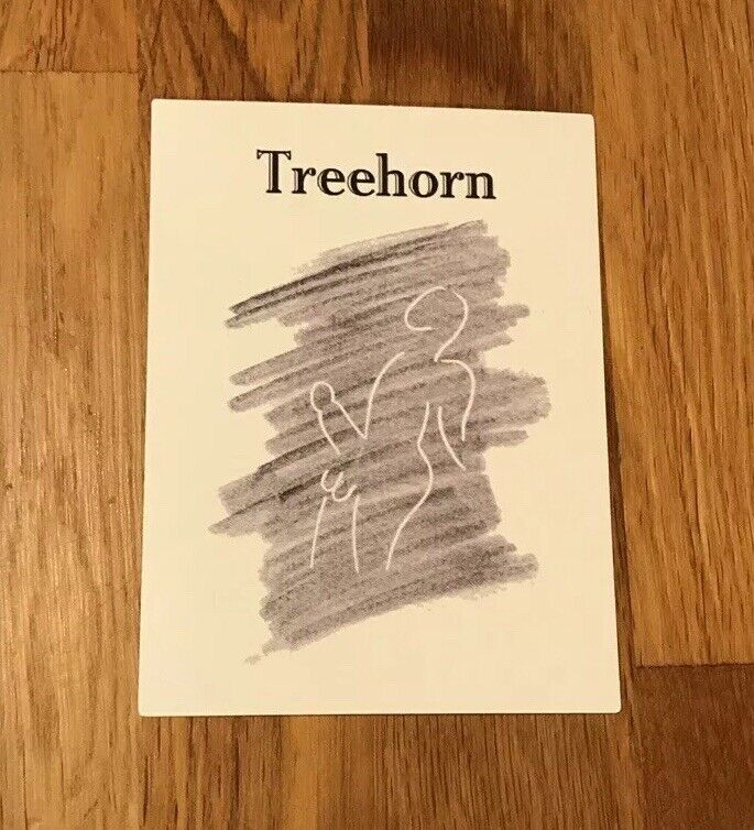 "The Big Lebowski ""Treehorn"" Vinyl Stickers (2) Coen Brothers Cult Comedy Fargo"