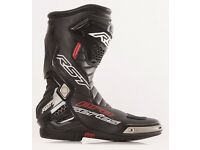 RST Pro Series Black Motorcycle Motorbike Sports Bike Boots