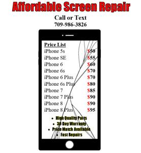 Affordable Screen Repair! $50-$95 St.Johns