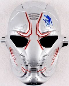 Stan Lee signed Ultron mask