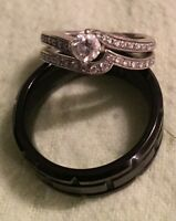 NEW! Couples wedding/ engagement rings