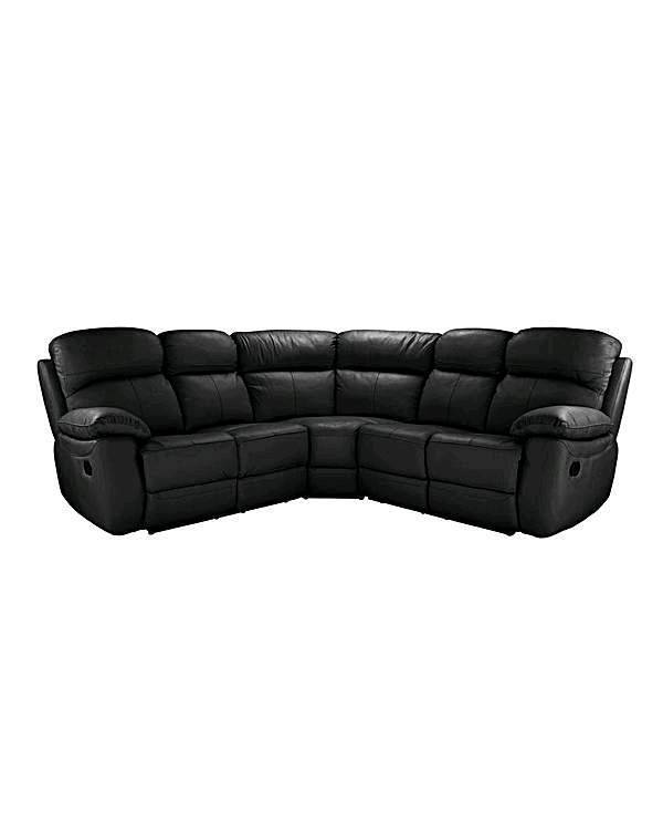Corner leather sofa recliner | in Middlesbrough, North Yorkshire ...