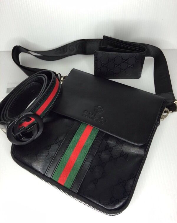 Gucci Side Bag In Black