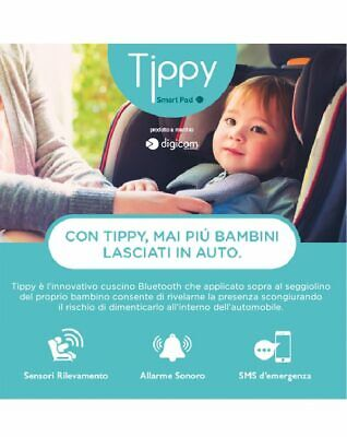 SmartPad Tippy Dispositivo Anti Abbandono Digicom 8E4610