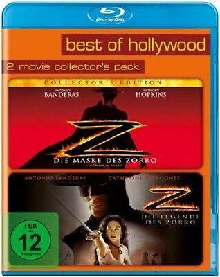 Blu-ray * Die Maske des Zorro + Die Legende des Zorro * NEU OVP * 2 Filme (Die Masken Film)