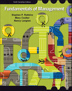Fundamentals of Management: 6th and 7th cdn editions available