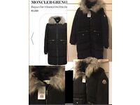 Women's Black Moncler Coat