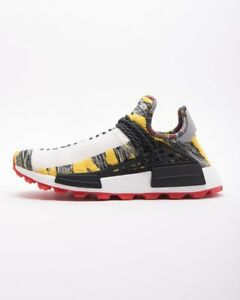 DS Adidas PHARRELL WILLIAMS SOLAR HU NMD SHOES Size 11 BB9527