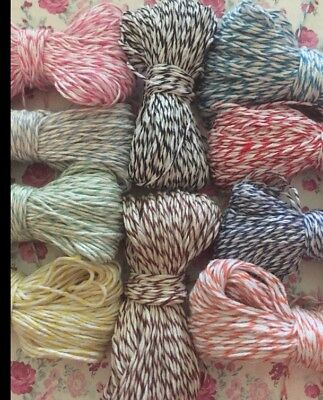 Bakers Twine 40 Yards(120 Feet!) 😊You Pick Your - Bakers Twine
