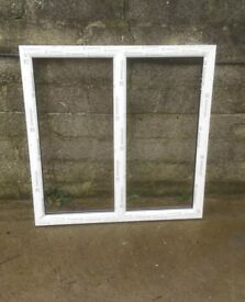 BRAND NEW WHITE UPVC WINDOW 1020MM WIDE X 1055MM HIGH INC CILL