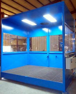 Parts Washer Wash Booth