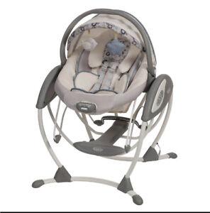Graco glider elite swing/chair *used twice*
