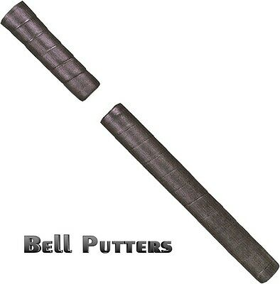 Tacki-mac Two 2 Piece Black Long Belly/Side Saddle Golf Putter Grip USA Made 2 Piece Putter Grip