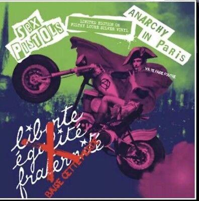 The Sex Pistols - Anarchy in Paris Live ltd Silver vinyl New & sealed  vinyl lp