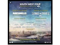South West Four SW4 Festival Tickets - SATURDAY 25th AUG 18 (DIZZEE RASCAL, SIGMA AND MANY MORE)