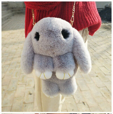 Top Quality Faux Fur Bag Children Soft Chain Crossbody Best Gift For Kid