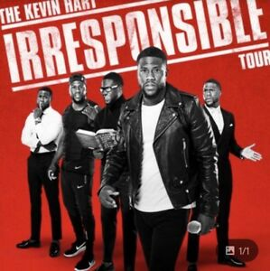 4 Kevin Hart Tickets for Saturday June 16