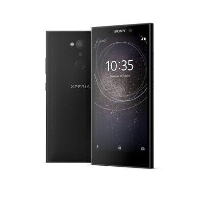 """Sony Xperia L2 Black 5.5"""" 32GB 4G NFC Unlocked & SIM Free- Uk Stock-Box - Fast"""