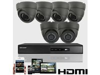 6 Dome Hikvision CCTV Kit & Installation Service.
