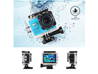 Waterproof video camera 1080p FULL HD.
